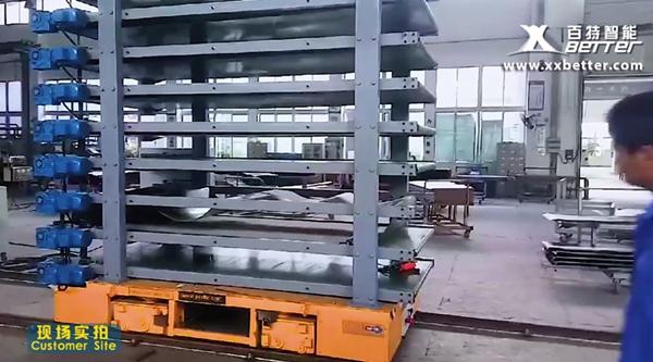 百特中铁十一局电动轨道台车现场实拍
